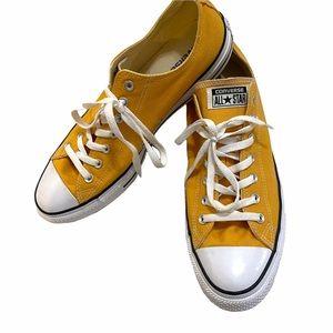 Converse chuck low yellow orange shoes